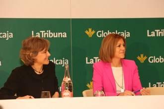 """Cospedal: """"La rebaja histórica del desempleo en el mes de abril en Castilla-La Mancha demuestra que los esfuerzos empiezan a dar frutos de manera muy importante"""""""