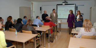 """Responsables del Servicio de Empleo de Rumanía se interesan por los resultados de """"Dipuemplea"""""""