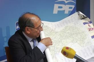 """Herrero regalará un mapa de Guadalajara a Sánchez """"para que hable en propiedad y conozca la provincia tan bien como la conocemos las personas del Partido Popular"""""""
