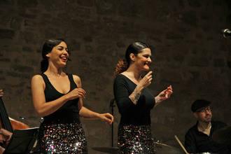 El dúo vocal Jazz Sisters llena El Pósito de Sigüenza con su swing de los 50