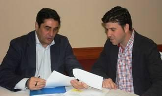 José Ignacio Echániz y Javier López se reúnen para hablar del estado de la sanidad en Torrejón del Rey