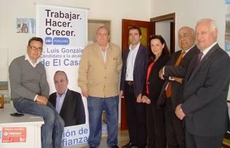 Paloma Barredo y José Luis González se reúnen en El Casar con el empleo como principal punto de trabajo
