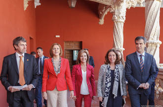"""Cospedal agradece en Guadalajara a Orange su contribución para que el acceso a las nuevas tecnologías """"esté al alcance de todos los ciudadanos de la región"""""""