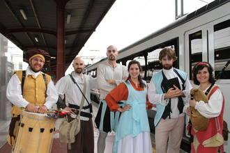 Arranca el Tren Medieval a Sigüenza