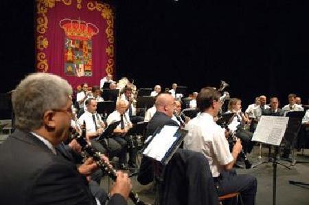 La Banda de Música de la Diputación actúa en un Encuentro Nacional en los Teatros del Canal de Madrid