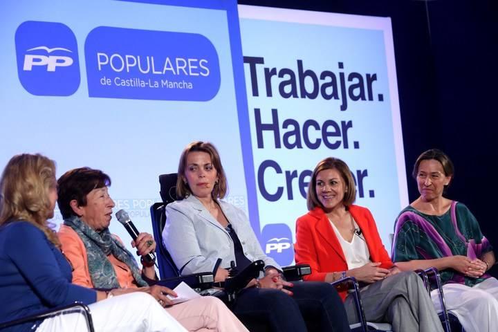Cospedal anuncia en Azuqueca su compromiso de impulsar una ley que garantice la accesibilidad universal en todos los municipios de la región