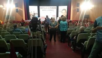 MAL AUGURIO : Page y Esteban tienen que retrasar un acto electoral en Marchamalo por falta de público