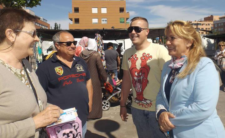 """Aure Hormaechea creará la figura del Policía Local de Barrio """"que garantizará la seguridad de Azuqueca desde la proximidad al vecino"""""""