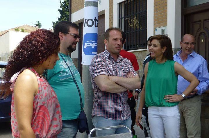 García de la Calzada recuerda en Marchamalo que gracias al PP la variante de la CM-1002 está en el Plan de Carreteras