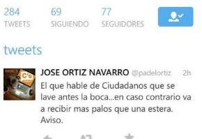 IMPRESENTABLE: El responsable de Comunicación de Ciudadanos Cuenca dice que dará