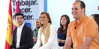 Cospedal asegura que el PP es la apuesta más sensata y de futuro para Castilla-La Mancha