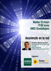 Anonimato en la Red, este martes a las 19,00 horas en la UNED