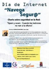 La Diputación organiza una charla sobre navegación segura en Internet