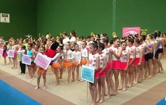 Broche de oro para el IV Circuito Provincial de Gimnasia Rítmica promovido por la Diputación