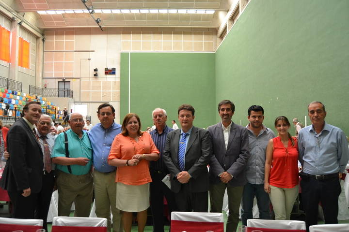 Condado participa en el Día del Mayor en Trillo
