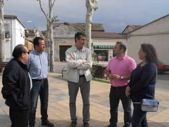 Antonio Román instalará tecnología 3G en Usanos y fibra óptica en Taracena, Valdenoches e Iriépal