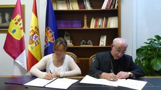 La Diputación colabora con la promoción del Museo Diocesano y la restauración de las iglesias de la provincia