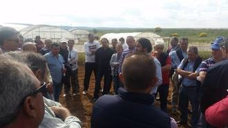 La presidenta de la Diputación resalta la gran labor de investigación del Centro Agrario de Marchamalo