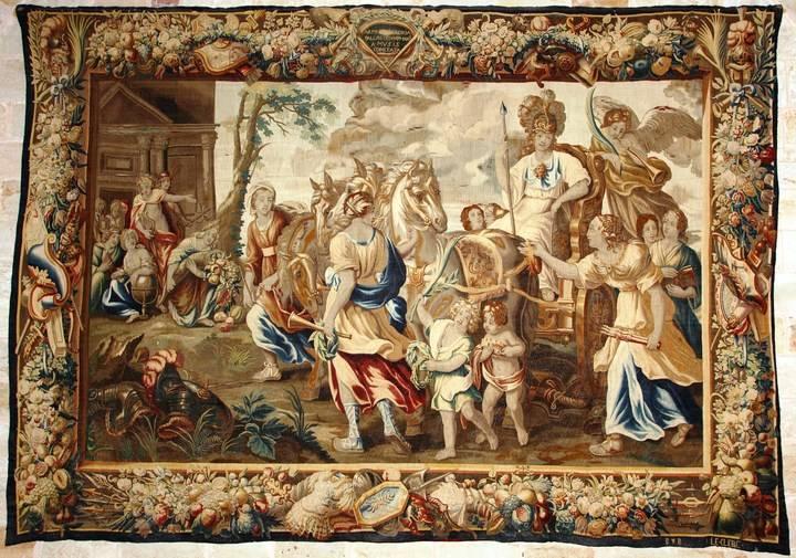 """Los tapices de la Catedral de Sigüenza """"a dos voces"""" en el Palacio del Infantado"""