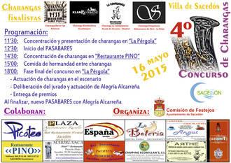 Klandestinos, Barra Fija, La Complutense y Strapalucio se medirán este sábado en el IV Concurso Nacional de Charangas de Sacedón