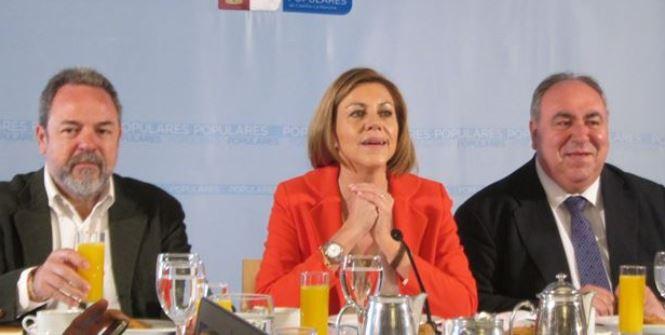 """Cospedal: """"El eje vertebrador de mi campaña va a estar centrado en las personas, en los castellano-manchegos"""""""