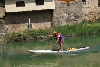 Antonio de la Rosa se impone en la prueba de SUP River disputada en Trillo