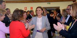 Tirado asegura que Cospedal tiene el compromiso absoluto de liderar el presente y futuro del PP de Castilla-La Mancha