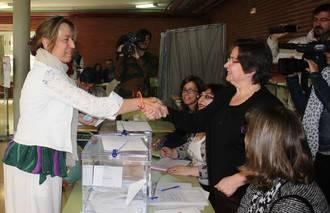 """Ana Guarinos: """"Hoy se decide el futuro de Guadalajara, de su provincia y de Castilla-La Mancha"""""""