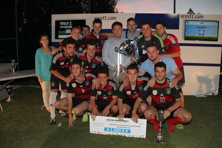 Plus Ultra representará a Guadalajara en el Campeonato de España de F-7