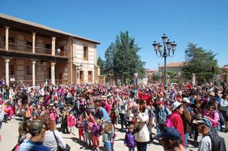 El colegio 'Virgen de la Granja' y el CADP 'La Chopera' celebran por sexto año consecutivo la Marcha por la Integración