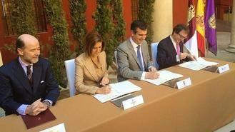Defensa, Junta, Ayuntamiento y Universidad de Alcalá firmarán un convenio para la transmisión de terrenos del campus de Guadalajara