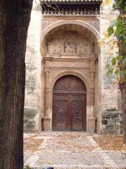 La portada plateresca del Convento de la Piedad, detalle monumental del mes de junio