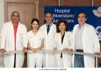 Enfermeros del Área Integrada de Guadalajara reciben un galardón por su labor de investigación