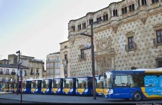 Los viajeros de los autobuses urbanos aumentan un 6,50%