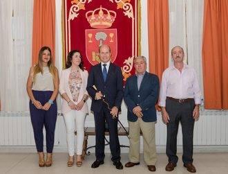Javier del Río toma posesión como alcalde de Pareja