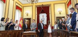 Antonio Román ya es el alcalde de Guadalajara para los próximos cuatro años