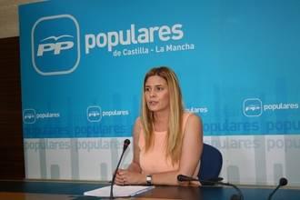 """Carolina Agudo: """"Page es la casta que representa el pasado más negro de Castilla-La Mancha"""""""