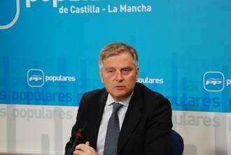"""Cañizares denuncia """"la soberbia de un perdedor como Page, que ha engañado a los ciudadanos ocultando su pacto con Podemos"""""""