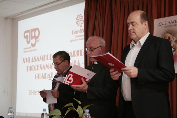 Cáritas Diocesana Sigüenza-Guadalajara celebró su XVI Asamblea