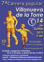 Este domingo se celebrará la VII Carrera Popular de Villanueva de la Torre