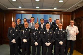 La Junta de Comunidades reconoce la labor de 12 agentes de Policía Local de la provincia de Guadalajara