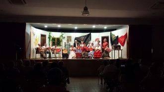 Música, pasión, sentimiento, y voces rocieras en la exitosa actuación de fin de curso del coro rociero del Centro de Día de Alovera