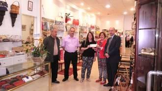 FCG hizo entrega del cheque del sorteo Comercio Abierto