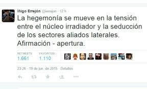 Un pedante tuit de Errejón provoca cachondeo, mofas y befas generalizadas en las redes sociales