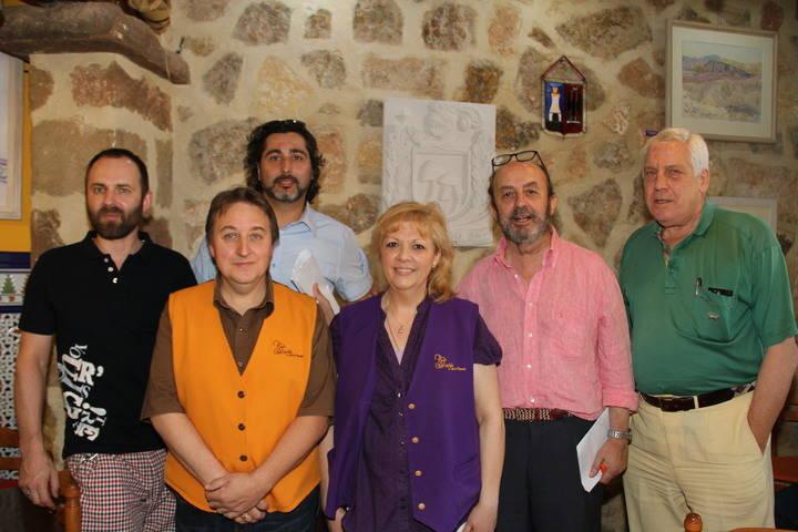 Estefanía Verdes, del Restaurante La Granja, mejor chef medieval seguntina 2015