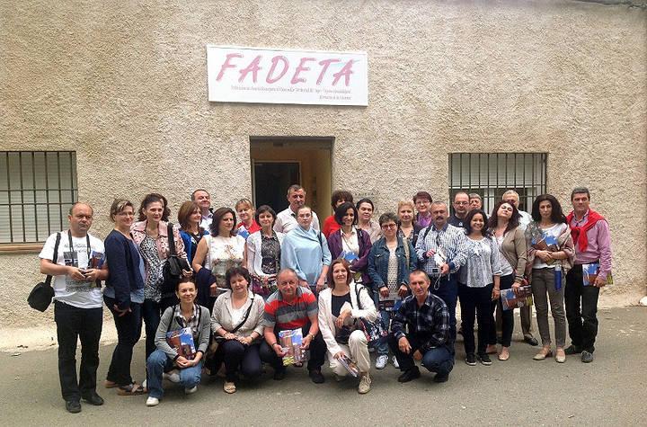 Técnicos de empleo de Rumanía conocen las acciones de desarrollo rural de FADETA