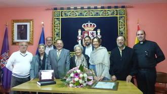 La presidenta de la Diputación comparte con los familiares y vecinos de Campisábalos la celebración de su vecina centenaria