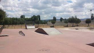 El skate park de Alovera completamente renovado