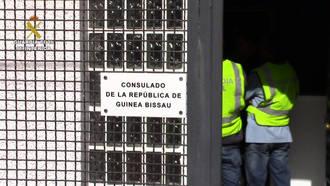 La Guardia Civil de Guadalajara detiene a una persona que se hacía pasar por el Cónsul de la República de Guinea Bissau en Madrid