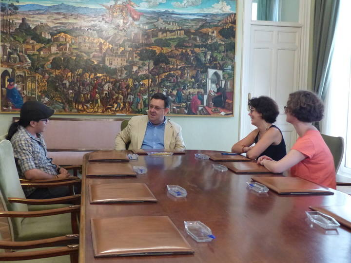 Ecuador se interesa por el funcionamiento de la Diputación y su apoyo a proyectos de desarrollo